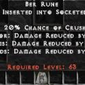 Ber rune project diablo 2, cheap and fast delivery!