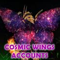 ❤️COSMIC WINGS ACCOUNT❤️PC EU Tons of Crafting Materials and Gems P1700+