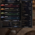 REAL FULL STATS PERFECT Material Full Set 16 Items 66590 DMG, 303000 HP, Free Gold & Affinity Trial