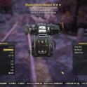 [Glitched weapon] Bloodied 25% Faster Fire Rate GAMMA MINIGUN + 25% VATS