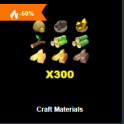 Craft Materials Pack1 - Fast delivery 24/7 online Cheap Animal Crossing items