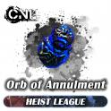 [PC] Orb of Annulmen t ★★★ Heist SC ★★★ 1 -5 mins Delivery