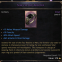 Bloodtrail Ring Seal of the Arbiter