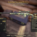 Bloodied Explosive Hunting Rifle
