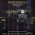 Bloodied Explosive Minigun + 90% Reduced weight