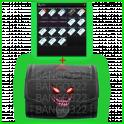 Lab farm set + S I C C case (Red, Blue, Black, Yellow, Green + 10 Access cards + 3 keys