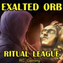 ✅ Selling Exalted Orb on Ritual Hardcore (PC) (1-5 min Delivery)/Discounts ✅