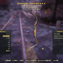 Bloodied +33% VATS hit Chance Bow 25% Less VATS