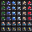 All the Eternal Gems, Tier 12 Gems, (Include Genesis Stone), Cheapest price