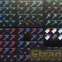 All EFT keys and keycards (93 + 7) + 6 keytools + 1 doc case