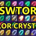 White-Black Crystal