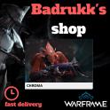 [PC/Steam] Chroma Warframe + Slot + Orokin Reactor // Fast delivery!