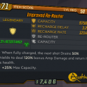 ★★★[PC] Improved Re-Router lvl 50 (Legendary Shield)★★★