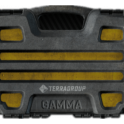 Gamma Secure container (3x3)