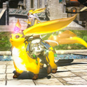 Mount: Citrine Carbuncle (Account-wide)--FFXIV All Servers