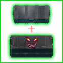 T H I C C Item Case + THICC weapon case ((Over fast delivery 24/7)