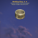 ⭐⭐⭐ [Prices are discussed] Wedding RING ( AP REFRESH + WEAPONS WEIGHTS) [Legendary Outfit]