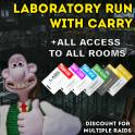 ⚜️ LAB RUN / LAB RAID / LAB CARRY || ALL ACCESS TO ALL ROOMS