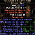 Verdungo's hearty cord (corrupted)