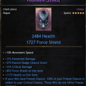 Best New Frostweave! Cheapest Price! 31% Critical Damage - 10% Movement Speed - 2484 HP