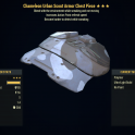 [PC] Chameleon Sneak Armor FULL SET + MASK (Urban Scout, 5/5 AP Refresh) - Fast Delivery