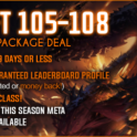 ✅US / EU✅ GR 105-108 + Solo/Group Package = $95✅EpicBoost --- 100% POSITIVE FEEDBACK