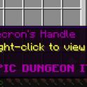 [Minecraft] Hypixel Skyblock Necron's Handle = $70