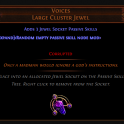 XBOX Voices Large Cluster Jewel Delirium Softcore. Best Price. INSTANT DELIVERY (5-10 mins)