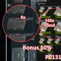 6 Sicc case +75  mln roub + 100k Usd + 100k EUR EFT - fast & safe