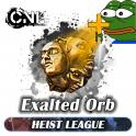 [PC] Exalted Orb ★★★  Heist SC ★★★ 1-5 mi ns Delivery★★★
