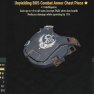 Unyielding BOS Combat Armor Chest Piece- Level 50 (Cavalier's) - image
