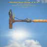 Bloodied  40% faster swing speed Super Sledge + 1 Strength - image