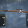 1000 DAMAGE Bloodied Explosive Lever Action Rifle [25% VATS]  [Glitch weapon] - image