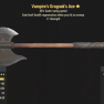 Vampire's Grognak's Axe- Level 50 - image