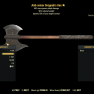 ★★★ Anti-Armor Grognaks Axe[40% Power Attack Damage][90% Reduced Weight]   FAST DELIVERY   - image