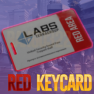 Lab. Red keycard ⭕ / Red card / Red key card / Red lab key | Instant delivery - image
