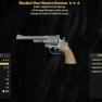 Bloodied Explosive Western Revolver + 50 Resist AIM - image