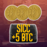 SICC + 5 BTC - image