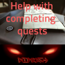 ❤️Help with completing quests, killing, finding items, without cheats❤️ - image
