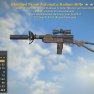 Bloodied Explosive Radium Rifle + 25% Less VATS - image