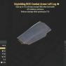 Unyielding BOS Combat Armor Left Leg- Level 50 (Cavalier's) - image