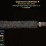 Suppressor's Cultist Blade- Level 50 - image