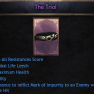 BEST ROLL 187 The Trial | +20% All Resist | +486 Health | +10 Agility | +1% Leech | Unique Belt - image