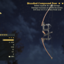 Bloodied Explosive Compound BOW NEW WASTELANDERS WEAPON - image