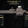 Quad  50% critical  Damage Railway Rifle 25% Less Vats - image