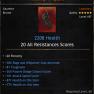 ★★★GLOVES 2208 HP 20 RES (38% rage/will cost dec, 81 tough, 265 passive dodge, 101 att speed)★★★ - image