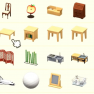 Animal Crossing Furniture-Any one of them: 2.75 USD Each - image