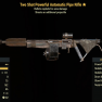Two Shot Powerful Automatic Pipe Rifle- Level 50 - image