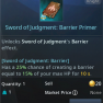 Sword of Judgments Barrier effect. - image