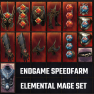 Full Endgame Set | Elemental Mage Speedfarm | 187 Untainted under 2 minutes | 15 PERFECT Items - image